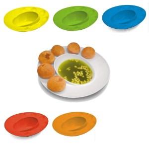 Unique Panipuri Plate (set of 5)