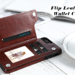 PEEPS™ Leather Flip Wallet iPhone Case
