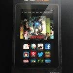 新型 Kindle Fire HDX 7インチ 先行入手、速攻レビュー