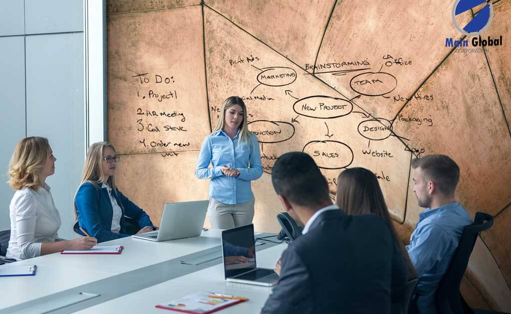 Copper zero ghosting writable wall covering