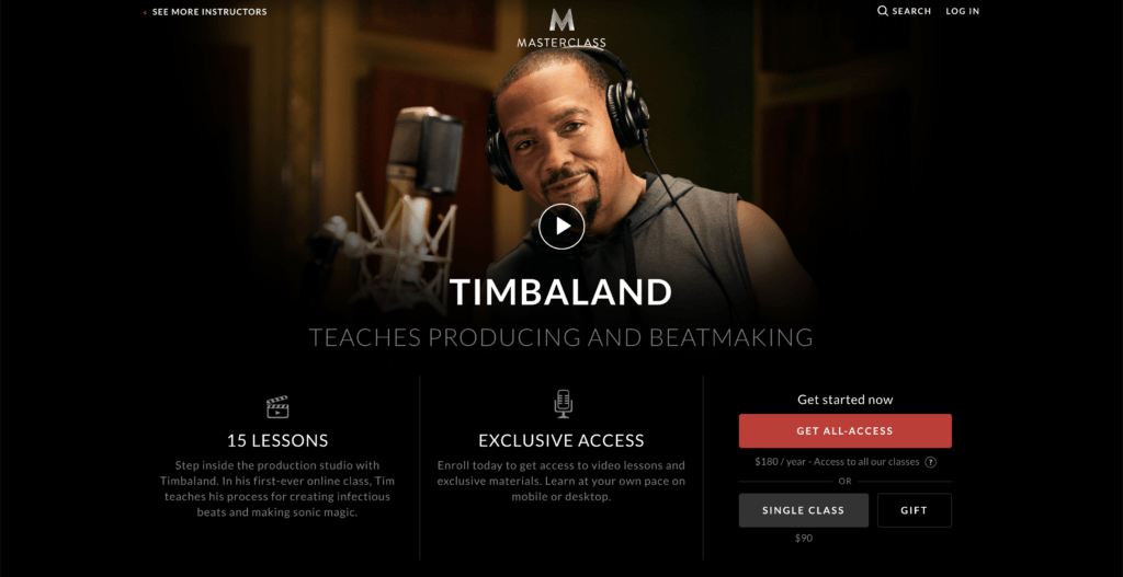 Timbaland Masterclass Review - Is It Worth It?