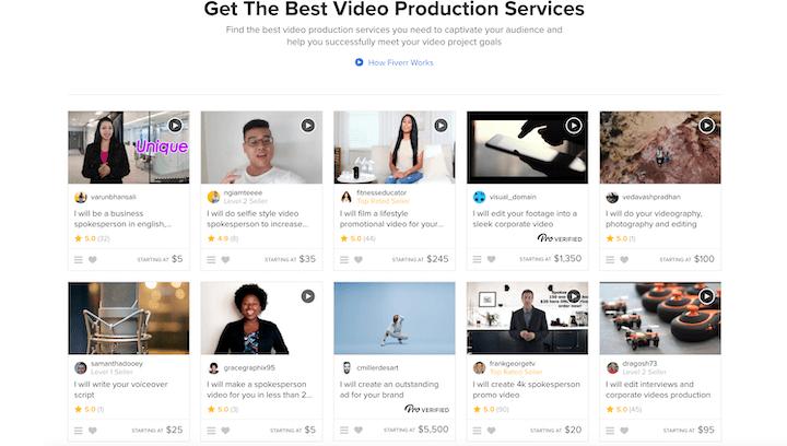 Fiverr Video Service
