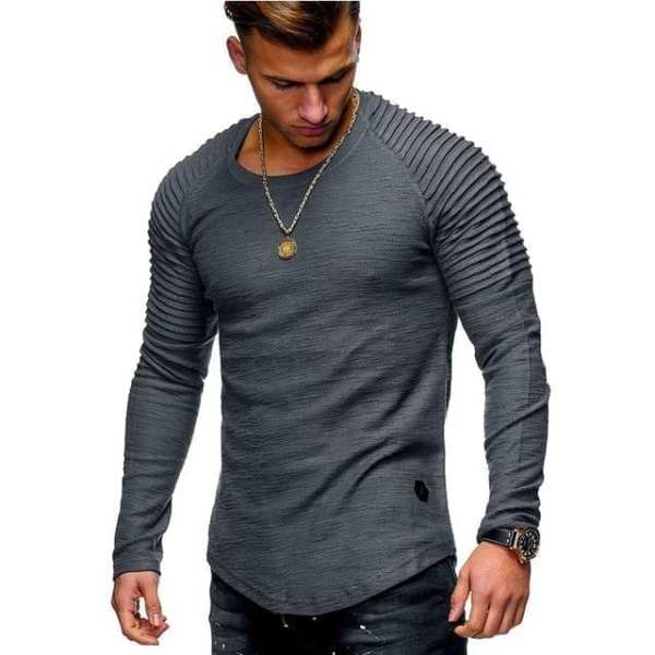 Mode Homme T-shirts manches longues