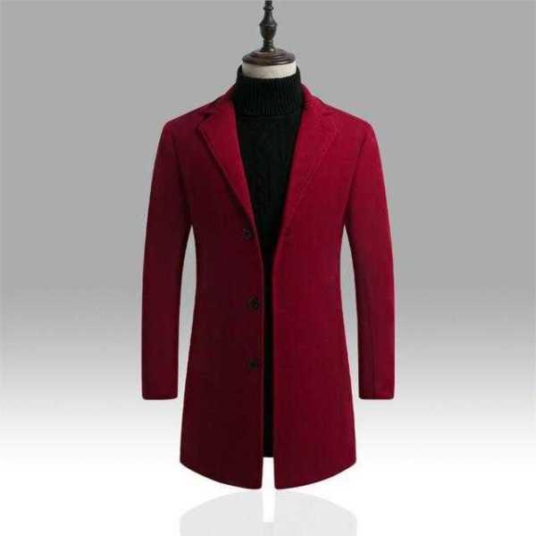 Men's Winter Windbreaker Jacket