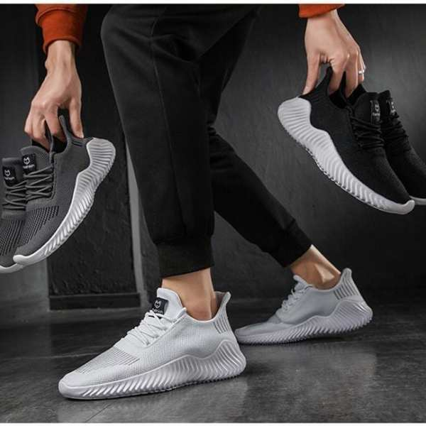 Light sneakers and breathable high quality design for men
