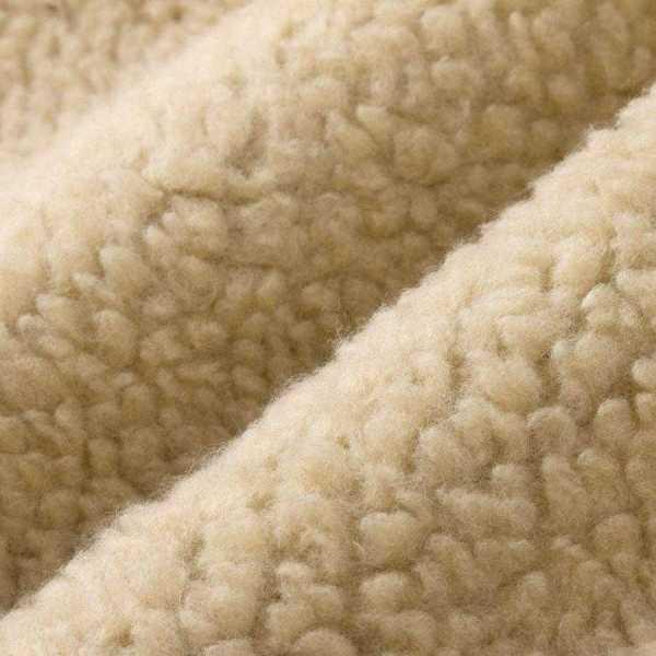 Abrigo de forro retro de cachemira para cuello alto para hombre forrado con lana