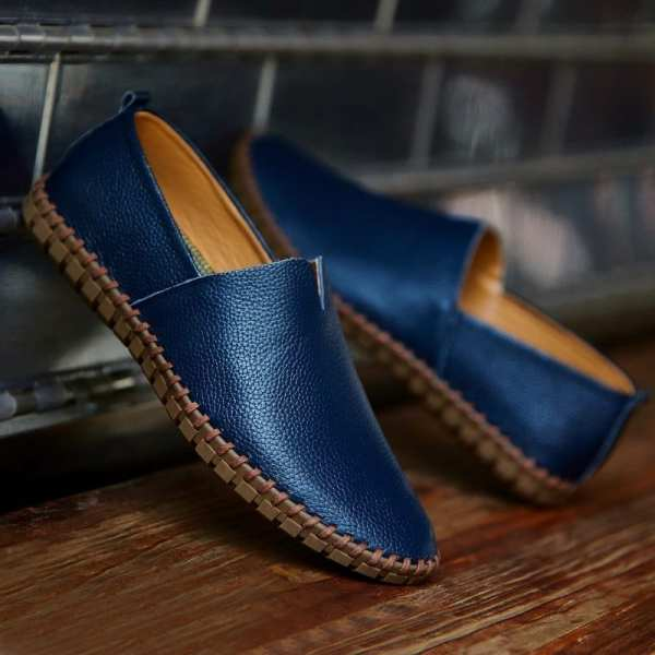 Chaussures Décontractées Mi-Saison En Cuir Pour Homme