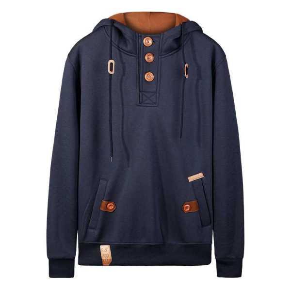 Sudadera con capucha estilo streetwear moderno para hombre