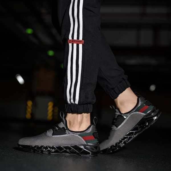Stylish men's running style sneakers