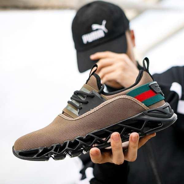 Sneakers élégants style running super confortables pour homme