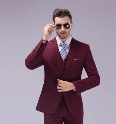 Costume classique élégant pour homme