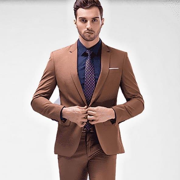 Elegant classic suit for men