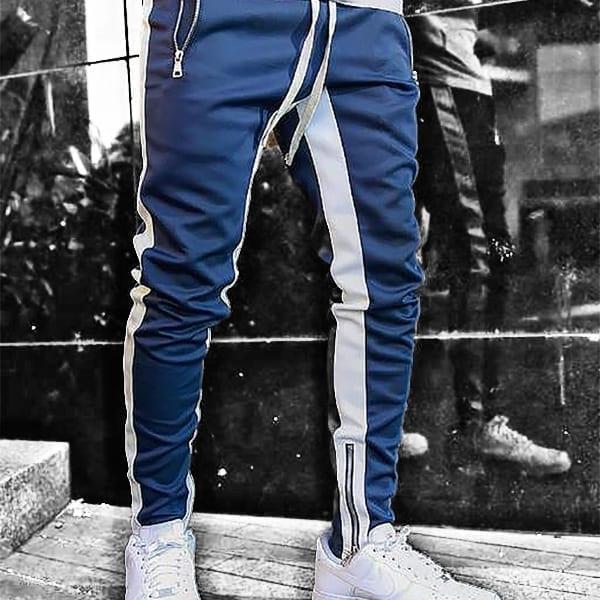 Casual slim jogging pants for men