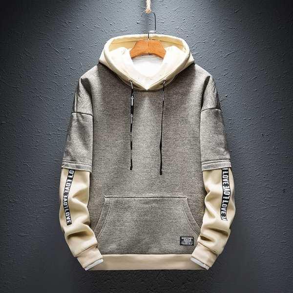 Hoodie Sweatshirt Design Style High Street For Men