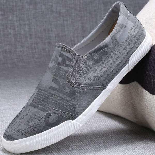 Zapatos casuales casuales planos para hombre