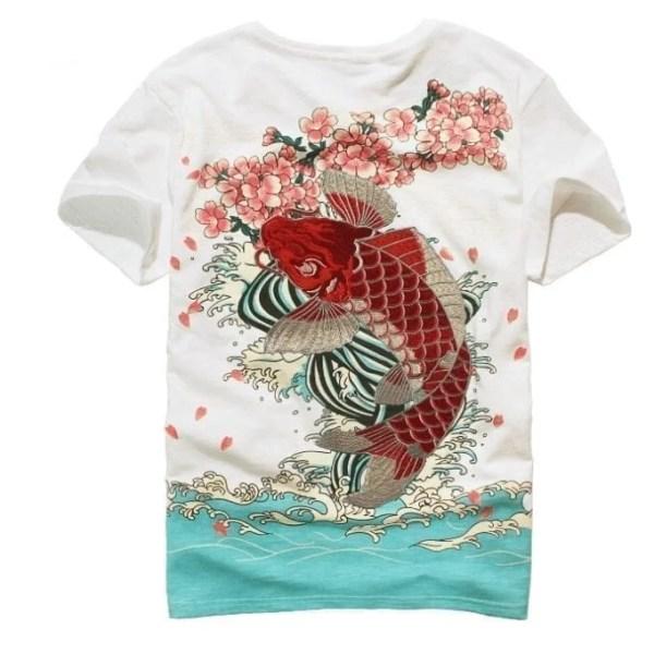 Elegant men's embroidery t-shirt