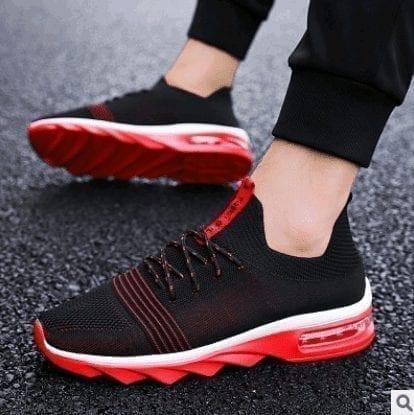 Zapatos de zapatillas de absorción de luz para hombre
