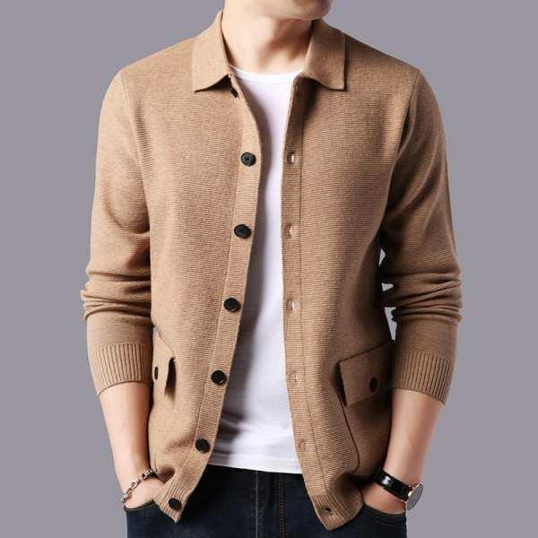 Gillet veste légère décontracté pour homme