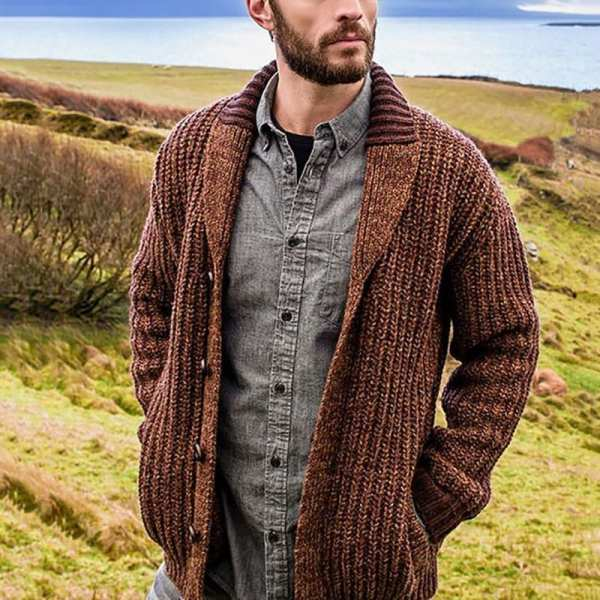 Men's solid coloured sweater