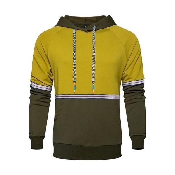 Sweat à capuche streetwear style pastelle pour hommes