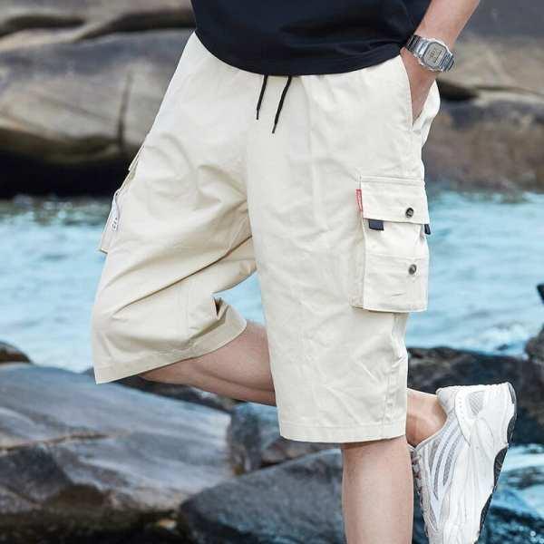Cómodos pantalones cortos de carga cómodos para hombre