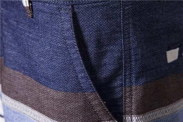 Diseño corto a rayas para hombre