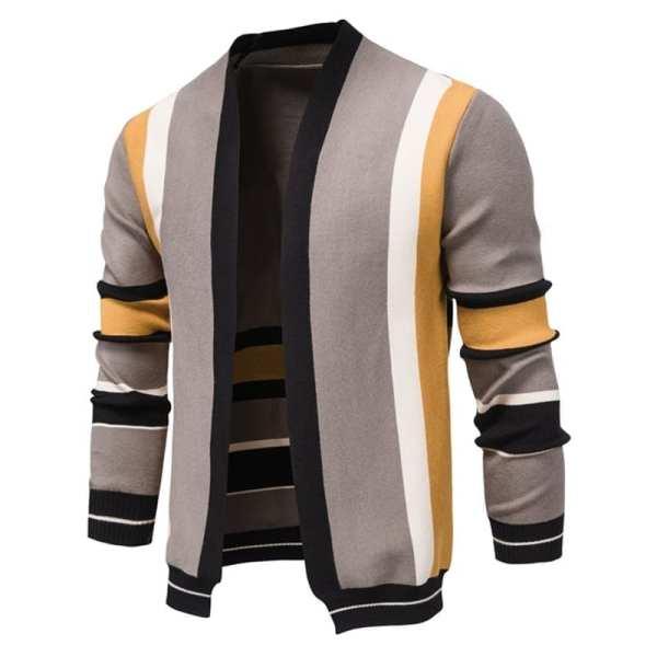 Original multi-colour cardigan for men