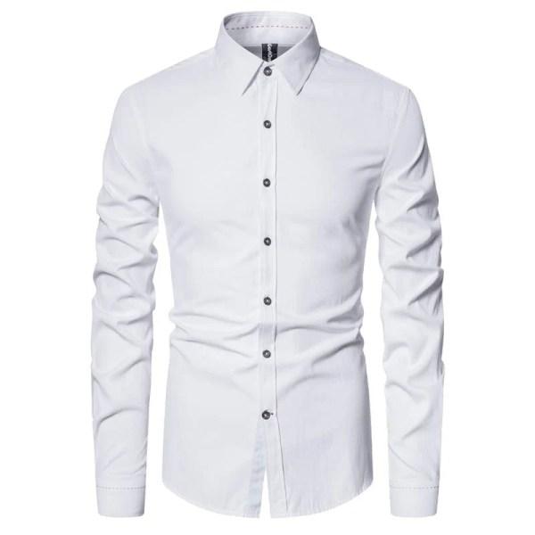 Men's simple cotton shirt
