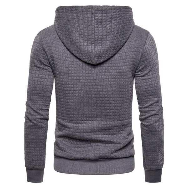 hoodie original carreaux tricotés pour hommes