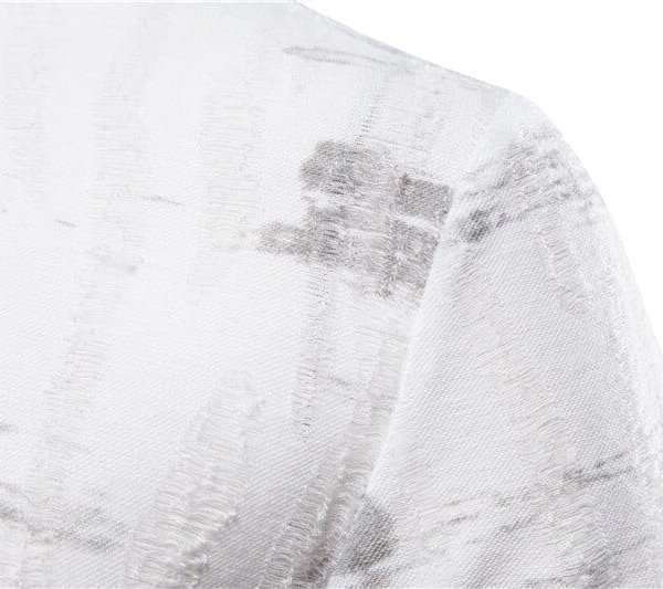 Original slim t-shirt print men's round neck
