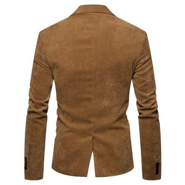 Blazer style velours veste de costume pour hommes