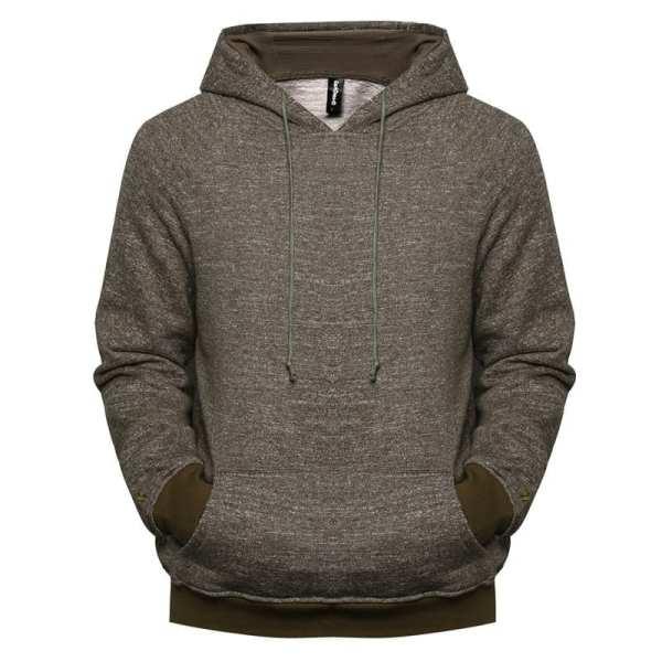 Sweat à capuche hoodie style velours pour hommes