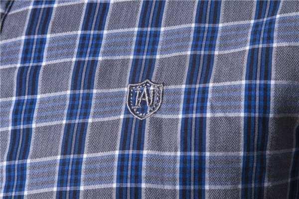 Chemise à petits carreaux style flannel hommes