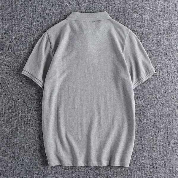 Polo coton couleur unie simple pour hommes