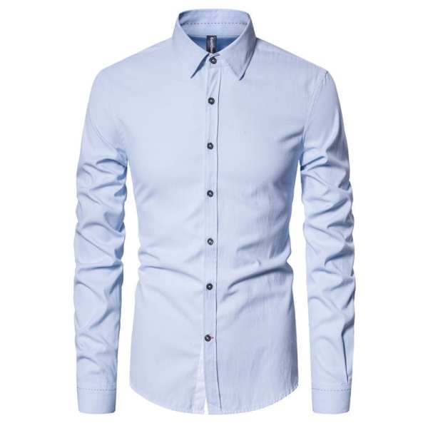 Elegant cotton simple shirt for men