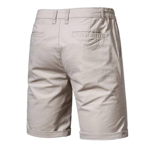 Short casual en coton pour hommes