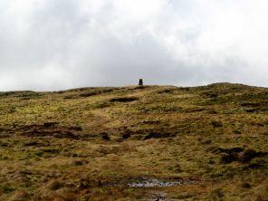 The trig point on Park Fell