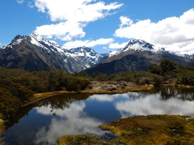 the divine Divide, on Milford's Sound road