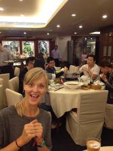 Sichuan food, Emi's favourite. Happy?!