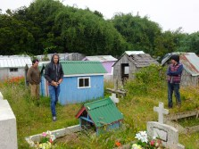 People built replica of their house under which they buried their relatives.