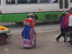 Typical outfit of the Colca Canyon
