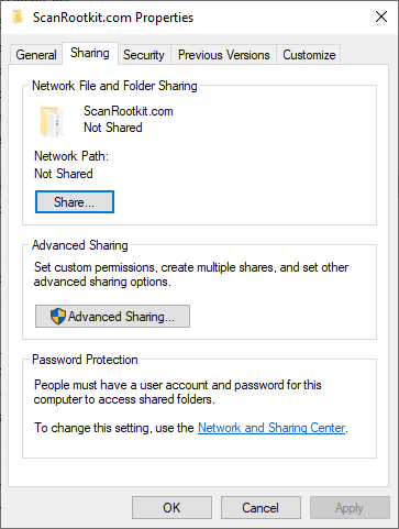 Simple File Sharing