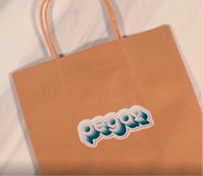 stickers para empaques y bolsas