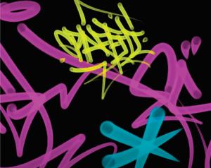 Creando un pincel tipo graffiti - spray brush photoshop