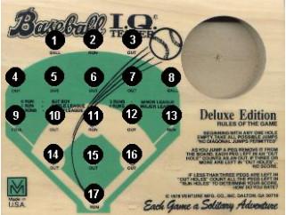 Original Baseball Peg Game