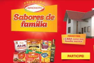 """Promoção """"Sabores de família Ajinomoto"""""""