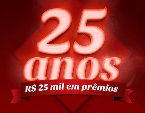 Promoção Café Jandaia 25 anos R$ 25 Mil em prêmios