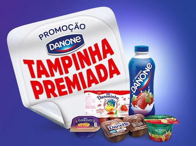 Promoção Danone Tampinha Premiada