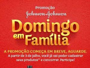 Promoção Domingo em Família Johnson e Johnson