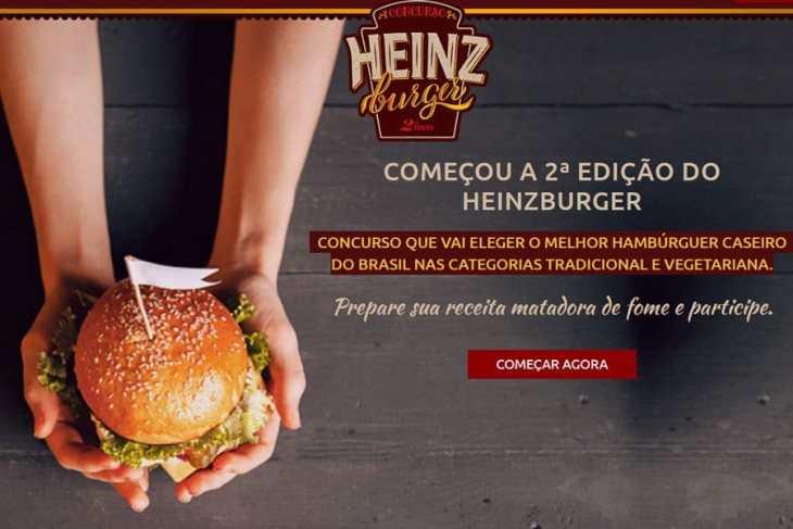 Promoção Heinz Burger